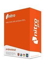 2016 Nitro Pro 10 - PDF Viewer, Creator, Editor, Converter