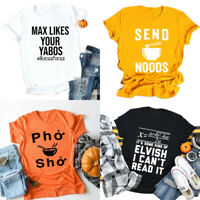 Send Noods T-Shirt Funny Noodles Chinese Food Shirt Party Gift Club Tees Tops