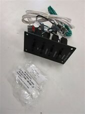 """HYDRA SPORT 220V AC OUTLET PANEL 240-01828-A 5 1/4"""" X 3"""" MARINE BOAT"""