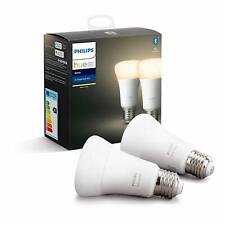 Philips Hue E27 White Smart Bulbs with Bluetooth-4 Bulbs