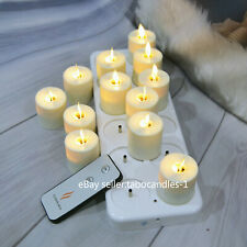 Luminara LED Flameless Ivory Taper Candle with Moving Wick, Remote/Timer