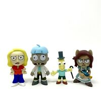 Funko Mystery Minis Rick And Morty Lot Beth Doofus Mr Poopy Butthole & Arthricia
