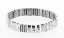Stretch Surgical Steel Bracelet with Swarovski Stones model 112
