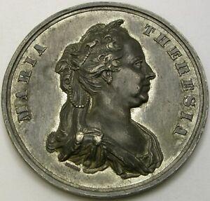 AUSTRIA Maria Theresia 31. August 1862 Medal - Tin *