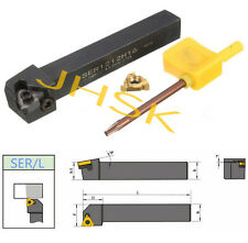 SER1212H16 100mm Lathe Threading Turning Tool + 16ER AG60 Insert + T15 Spanner