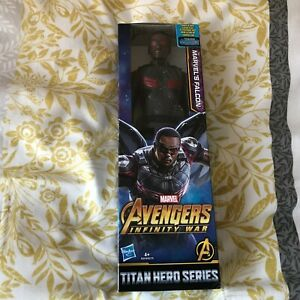 "Marvel Falcon 12"" Figure Avengers Infinity War Titan Hero Series BNIB"