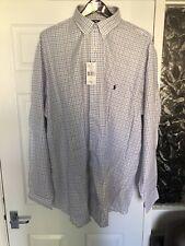 Polo Ralph Lauren XLT White Check Shirt