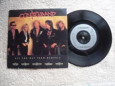 """Contraband todo el camino desde Memphis EMI impacto American Records 7"""" solo en P/S"""