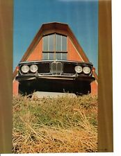 1970 BMW 2800CS ~  ORIGINAL 4-PAGE ROAD TEST / ARTICLE / AD