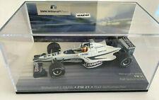 New listing Minichamps Williams F1 BMW FW 21 Ralph Schumacher in Presentation Case - 1:43