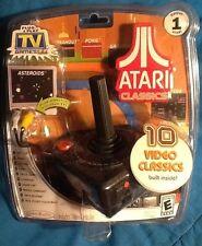 ATARI Classic 10-in-1 TV Games Plug And Play Jakks Pacific 2002 Joystick MINT