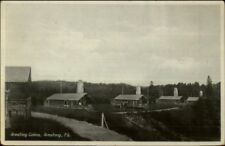 Armstrong Quebec Cabins c1920s Postcard