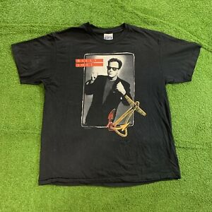 1989-1990 Billy Joel Stormfront Single Stitch T-Shirt Adult XL in Black USA Made