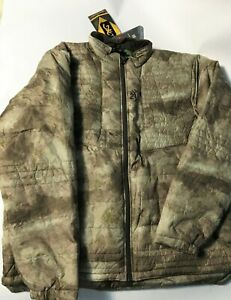 New Mens 3XL Hero Fit A-Tacs Camo Browning Hunting Jacket XXXL With Tags NWT