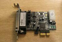 Fujitsu Dual Serial Card PCIe x1 Sunrich: SRT I - 360A Rev.2 E189948 PCI