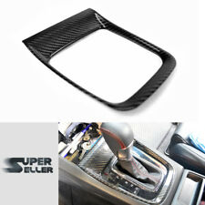 15-19 Dry Carbon For Subaru WRX STI Interior Gear Shift Shifter Cover Trim