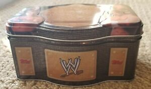 WWE RAW NXT Wrestling World Heavyweight Champion Topps 75 Trading Cards Tin