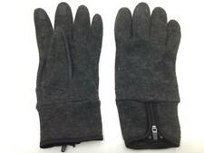 $99 ISOTONER Mens Knit Gloves Gray Acrylic TOUCHSCREEN ATHLETIC WINTER Size L