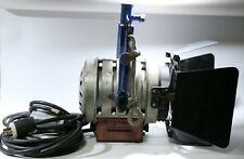 Mole-Richardson 650W Tweenie II Solarspot Fresnel Tungsten Light - Barndoors