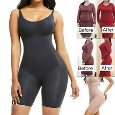 Fajas Colombianas Reductoras Levanta Cola Post Surgery Body Shaper Full Bodysuit