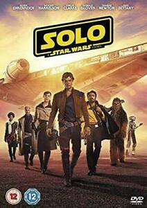 SOLO: A STAR WARS STORY - DVD**USED VERY GOOD ** FREE POST