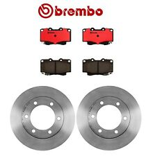 "For Brembo Pair Front Disc Brake Rotors 11 3/4"" O.D.+Pads for Toyota 4Runner"