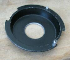 """De Vere recessed enlarger lens mount 4.5"""" 114mm flange m39 thread hole 18mm deep"""
