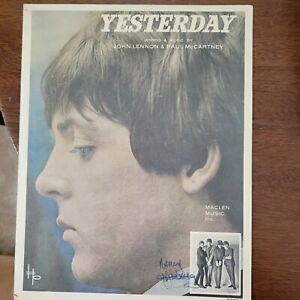 Yesterday by The Beatles sheet music John Lennon & Paul McCartney