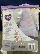 """""""Mermaids"""" Parent's Choice 4-Piece Toddler Bedding Set"""
