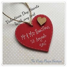 Heart Hand Painted Decorative Plaques & Signs