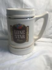 Vintage Lone Star Brewing Beer Ceramic Mug Made In USA