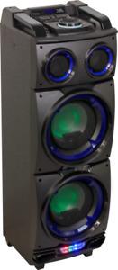 IBIZA Sound STANDUP208 Akku Sound System USB SD UKW Bluetooth Fernbedienung MP3