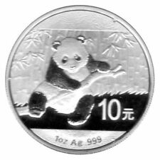"1 Unze - 10 Yuan Münze China 2014 ""Panda"" PP Silber 999"