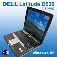 DELL Latitude D530 Core 2 Duo Laptop Windows XP Pro 2.0 GHz/ 80 GB HD/1 GB ram