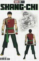 Shang-Chi #1 (2020) Jim Cheung Design 1:10 Variant Marvel Comics