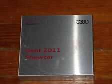 2011 AUDI A3 CONCEPT CAR GENF 2011 SHOWCAR AUTOSHOW PRESS KIT W CD-ROM 2 BOOKS