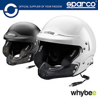 003349 Sparco AIR PRO RJ-5i Carbon Open Face Race Rally Helmet SNELL FIA