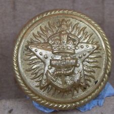 WW2 Royal Indian Navy Gilt Officers Tunic Button  26mm firmin London