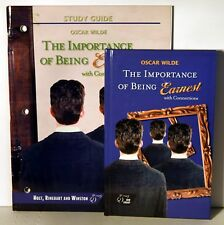 HRW Importance of Being Earnest Study Guide and Hardcover book with Connections