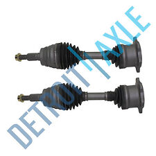 FRONT LEFT AND RIGHT CV DRIVE SHAFT AXLE - 6 LUGS for Chevrolet GMC
