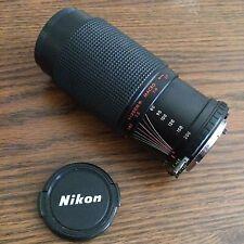 Camera Lens Macro F=80-200mm 52mm Haze 1:4.5 Nikon