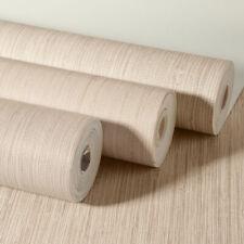 Peel Stick Wallpaper Fabric Self-Adhesive Linen Natural Embossed Textured Film