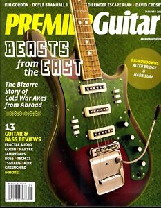 PREMIER GUITAR January 2017 Beasts From The East-Kim Gordon-Doyle Bramhall II