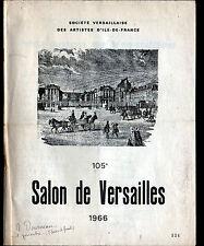 VERSAILLES (78) Société VERSAILLAISES des ARTISTES / CATALOGUE Salon de 1966