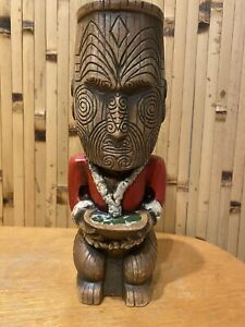 August Holland Pearl Of Wisdom Tiki Mug Christmas Employee Ohana Eekum Bookum