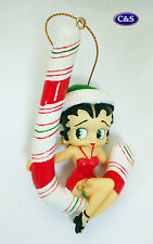 """Betty Boop Candy Cane tree/hanging ornament - 4"""" - 20144"""