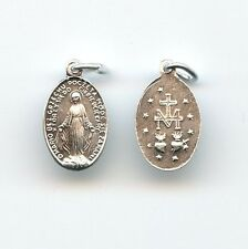 Wunderbare Medaille Wundertätige Mutter Gottes Hl Maria Alu Klein 19 mm MED 3053