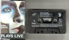 Peter Gabriel   MC / Tape / Kassette   PLAYS LIVE   ©  1983