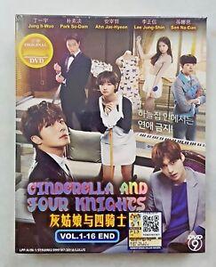 Korean Drama DVD Cinderella and Four Knights 2016 ENG SUB All Region FREE SHIP
