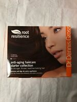 Dr Dennis Gross Anti-Aging Haircare Starter Collection Kit Sealed New In Box